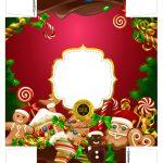 Caixa Lata Cerveja Natal Vermelho 3