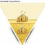 Caixa Piramide Ano Novo 2018
