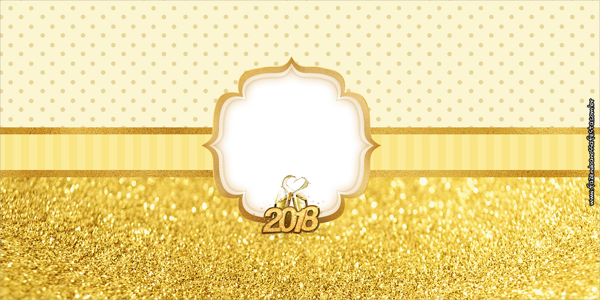 Cofrinho Ano Novo 2018