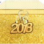 Envelope Convite Ano Novo 2018