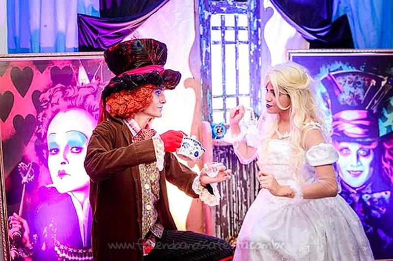 Festa Alice no País das Maravilhas da Laura 1