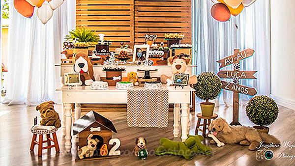 Festa Cachorrinhos do Luca Ideia
