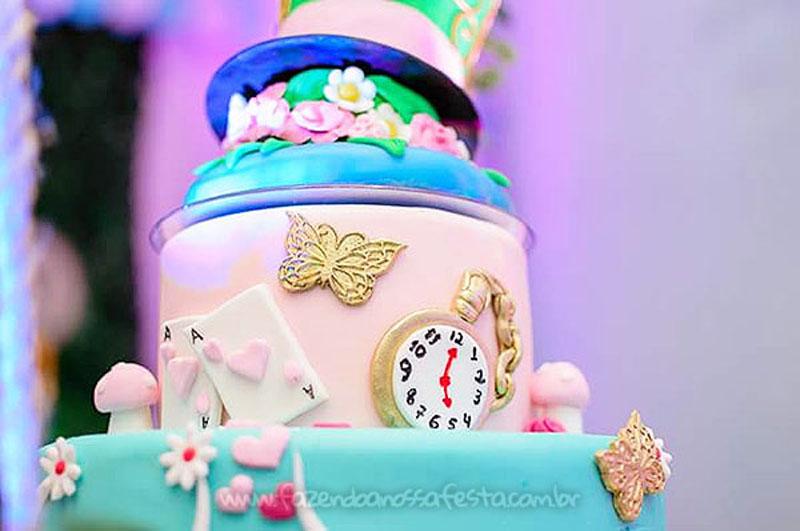 Festa Infantil Alice no Pais das Maravilhas da Laura 11