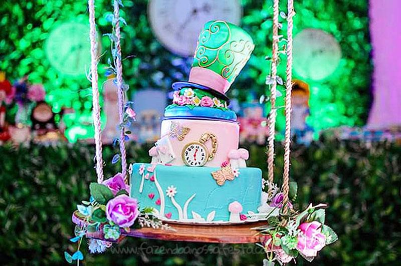 Festa Infantil Alice no Pais das Maravilhas da Laura 25