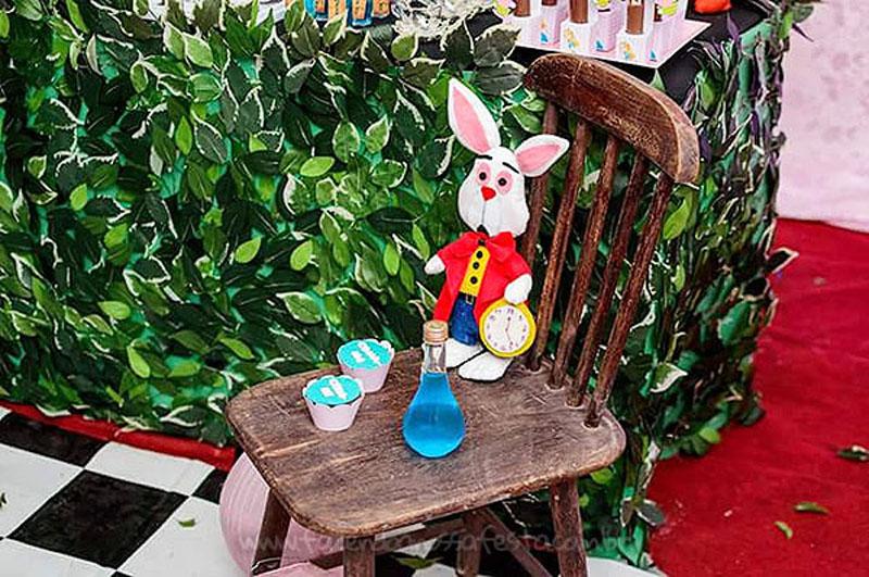 Festa Infantil Alice no Pais das Maravilhas da Laura 27