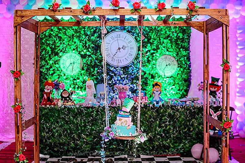 Festa Infantil Alice no Pais das Maravilhas da Laura 28
