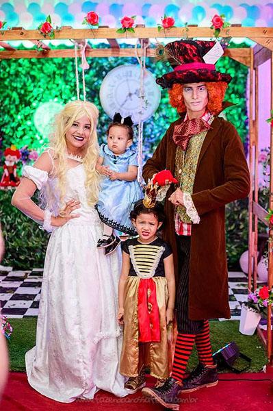 Festa Infantil Alice no Pais das Maravilhas da Laura