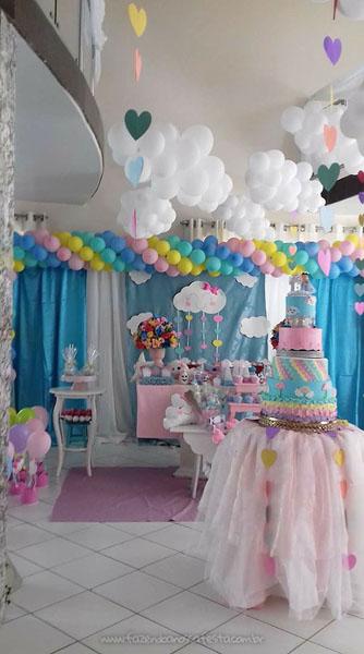 Festa Infantil Chuva de Amor da Alicia 12