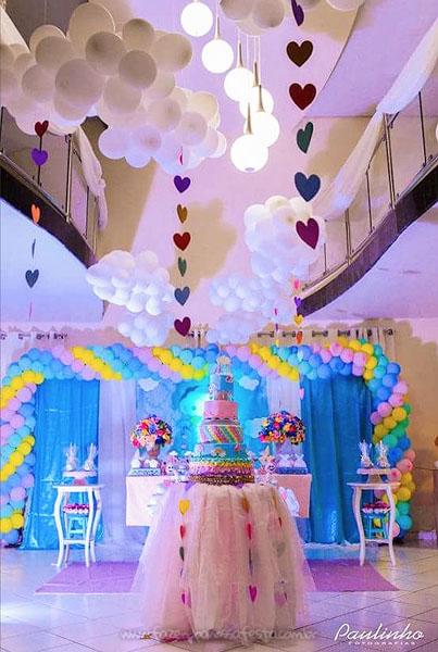 Festa Infantil Chuva de Amor da Alicia 3