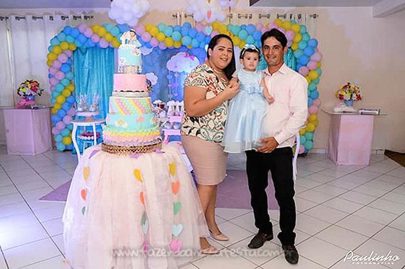 Festa Infantil Chuva de Amor da Alicia 7