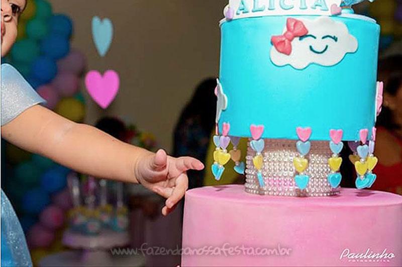 Festa Infantil Chuva de Amor da Alicia