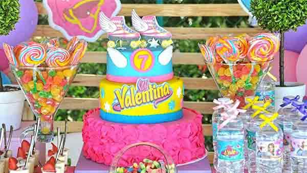 Festa Infantil Soy Luna da Valentina Ideias