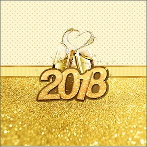 Molde Caixa de Acrilico Ano Novo 2018 Kit Festa
