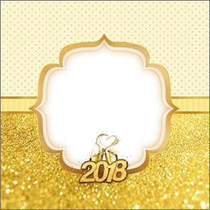 Molde Caixa de Acrilico Ano Novo 2018 Kit Festa 4