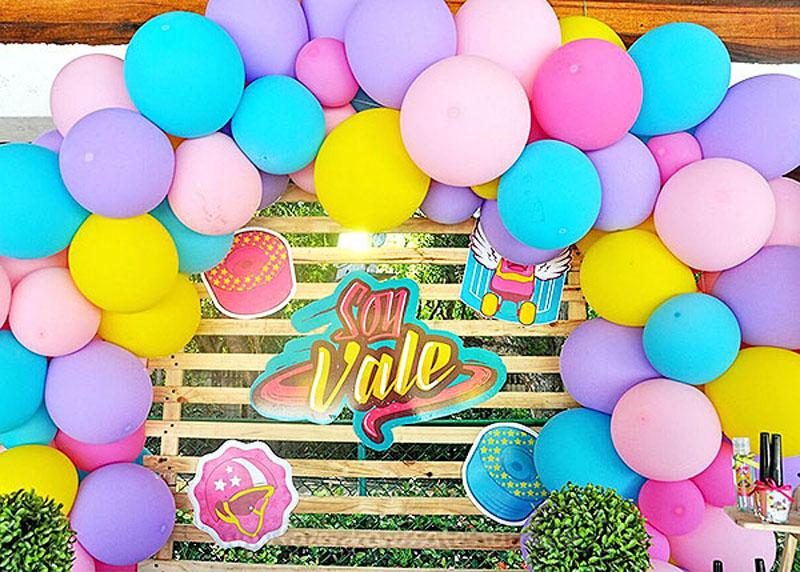 Painel Festa Soy Luna da Valentina