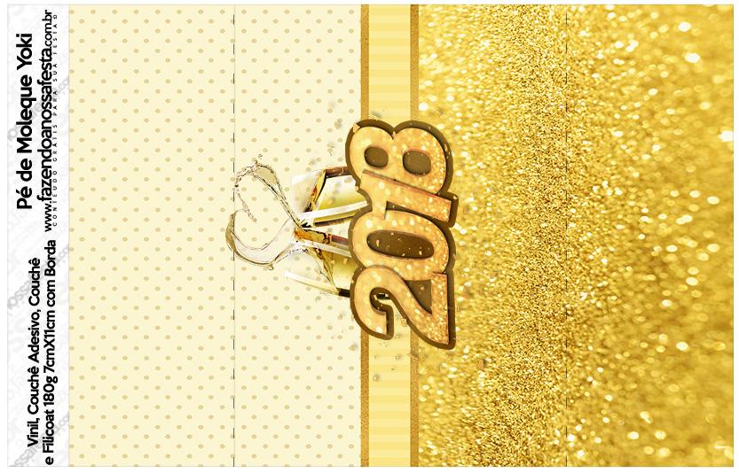 Pe de Moleque Yoki Ano Novo 2018 Kit Festa