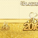 Revista Colorindo Ano Novo 2018