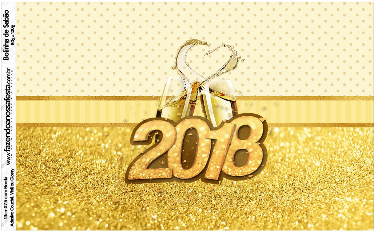 Rotulo Bolinha de Sabao Ano Novo 2018