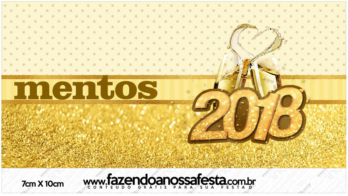 Rotulo Mentos Ano Novo 2018
