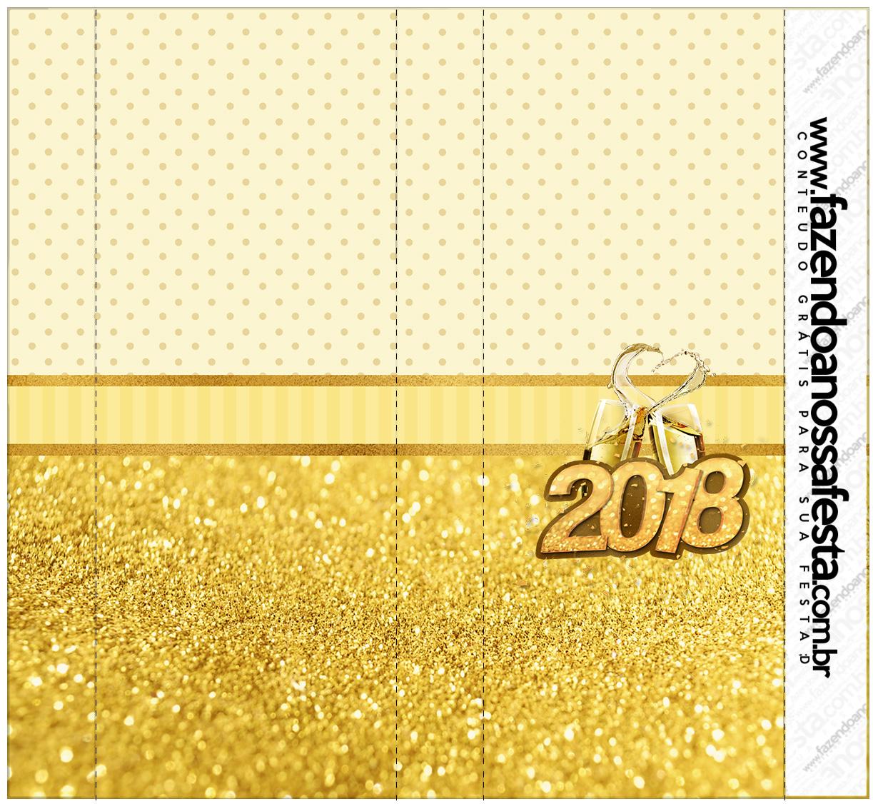 Rotulo Nescau Ano Novo 2018