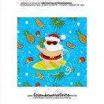 Rotulo Panetone para Natal Tropical Tampa