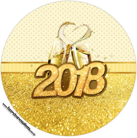Rotulo Tubete 2 Ano Novo 2018
