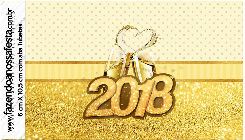 Rotulo Tubetes Ano Novo 2018