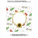 Rotulo de Panetone para Natal Tampa 8