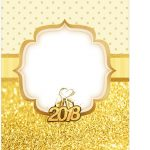 Tag Agradecimento Ano Novo 2018 Kit Festa