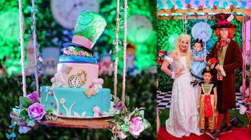 Festa Alice no País das Maravilhas da Laura