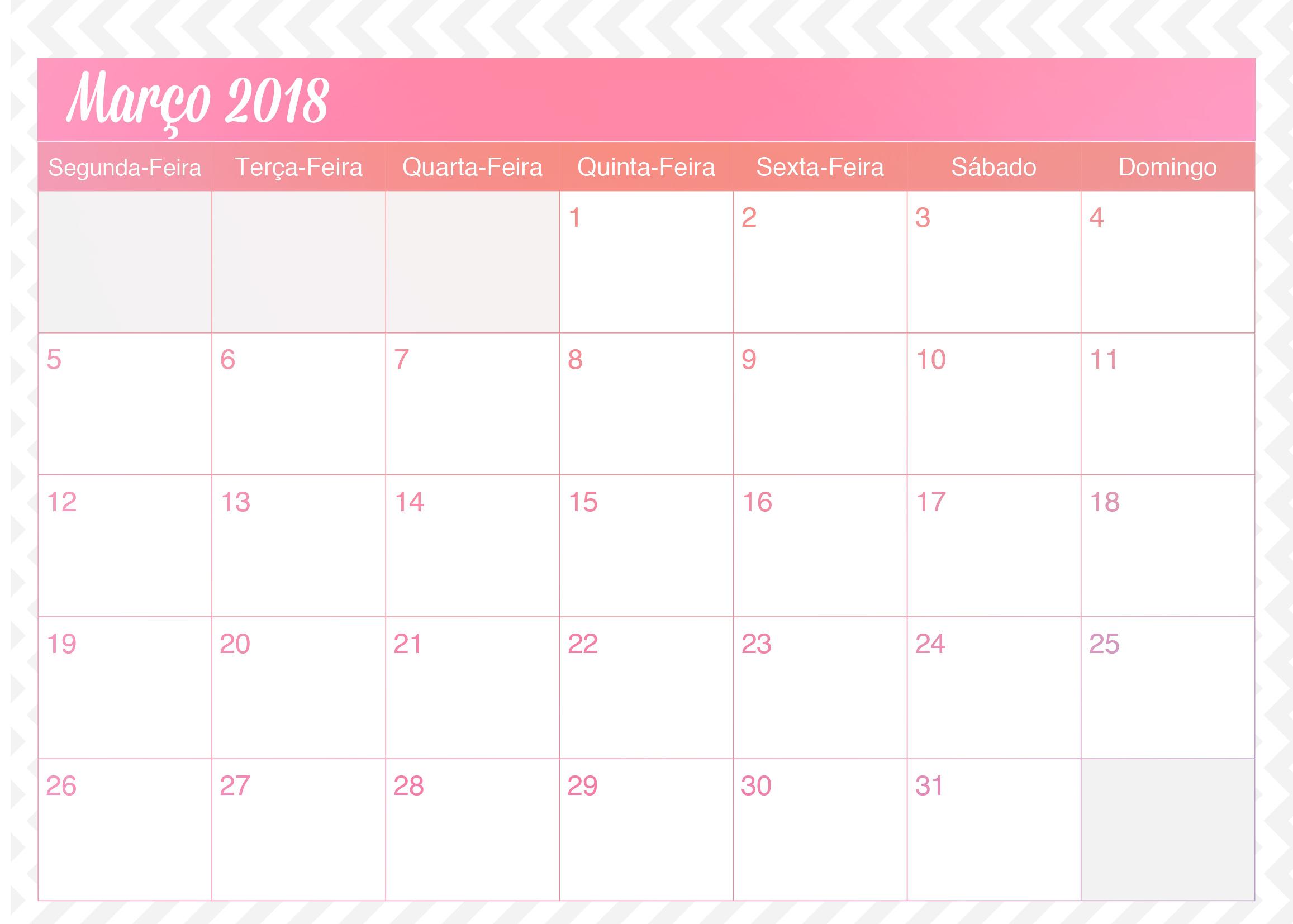 Calendario Mensal Planner de Professor Unicornio Marco