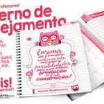Caderno de Planejamento para Professores Grátis para Imprimir