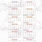 Calendario 2022 Chuva de Amor