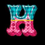 H Alfabeto Festa Circo Menina