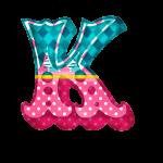 K Alfabeto Circo Menina