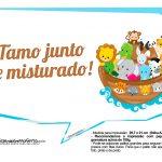 Plaquinhas divertidas Arca de Noe 16
