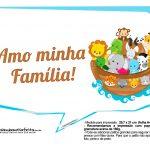 Plaquinhas divertidas Arca de Noe 4