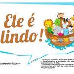Plaquinhas divertidas Arca de Noe 6