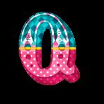 Q Alfabeto Circo Menina