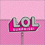 Adesivo Caixa Acrilico LOL Surprise Kit Festa