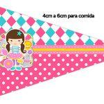 Bandeirinha Sanduiche 1 Circo Menina