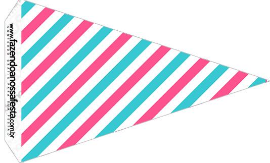 Bandeirinha Sanduiche 4 Circo Menina
