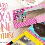 Caixa Kit Mini Confeiteiro Personagens Grátis para Imprimir