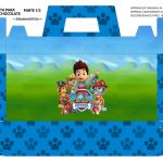 Caixa Maleta para Pascoa Patrulha Canina 01