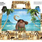Caixa Maleta para Pascoa Personagens Maui Moana 02