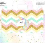 Caixa Maleta para Pascoa Unicornio 1 02