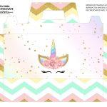 Caixa Maleta para Pascoa Unicornio 2 02