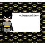 Caixa Mini Confeiteiro Batman Cute parte de cima
