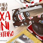 Caixa Kit Mini Confeiteiro Chocolates Grátis para Imprimir