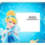 Caixa Mini Confeiteiro Cinderella parte de cima